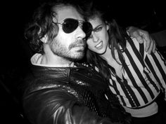 With Olivier Zahm ( founder/owner of French fashion and culture magazine , Purple. Balenciaga Dinner Sept.27,2012