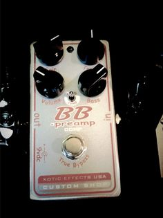 BB Preamp Comp...the best overdrive I heard ever...Xotic rules!!!