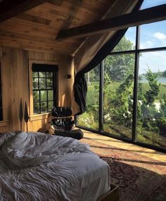 50 Best Bedroom Design Ideas for 2019 - The Trending House Dream Rooms, Dream Bedroom, Home Bedroom, Bedrooms, Master Bedroom, Home Interior Design, Interior Architecture, Interior And Exterior, Aesthetic Rooms