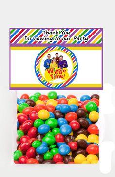 Wiggles Favor Bag Toppers - Digital Download - on Etsy Wiggles Birthday, Wiggles Party, Twin Birthday, Baby First Birthday, 3rd Birthday Parties, Birthday Fun, Birthday Ideas, Bag Toppers, First Birthdays