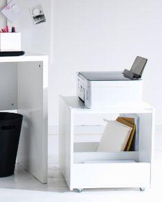 White MICKE printer desk    http://www.ikea.com/us/en/catalog/products/10227183/