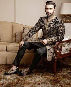 wedding outfit men indian * wedding outfit guest + wedding outfit men + wedding outfit + wedding outfit guest winter + wedding outfits for guest + wedding outfit guest spring + wedding outfit men indian + wedding outfit men guest Sherwani For Men Wedding, Wedding Dresses Men Indian, Groom Wedding Dress, Sherwani Groom, Wedding Men, Wedding Summer, Wedding Reception, Men's Wedding Wear, Trendy Wedding