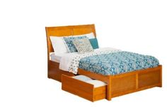 Atlantic Furniture Portland Queen Bed with Flat Panel Foot Board and Urban Bed Drawers, Caramel Latte Finish, http://www.amazon.com/dp/B00A6S3XBO/ref=cm_sw_r_pi_awdm_HdTZsb1Z2EM6J