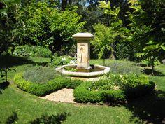 Fountain in Garden - Provence