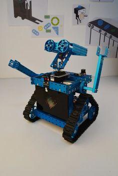 Use makeblock to make a robot.