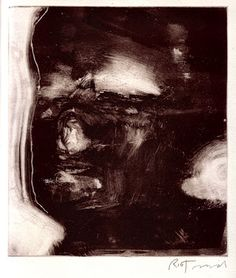 Monoprint - ink up the plate and rub away the light areas then place substrate over plate and roll with brayer