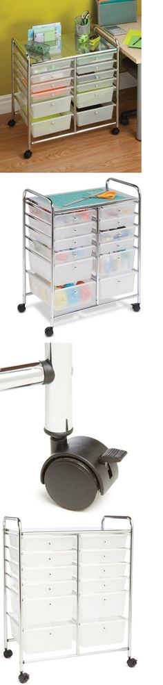Craft Carts 146400: Crafting Supplies Storage Cart Drawers Hobby Sewing  Rolling Organization Metal  U003e BUY IT NOW ONLY: $140.97 On EBay!