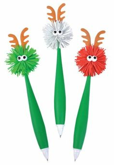 Reindeer pen - great giveaway at http://www.acenovelty.com/donace/PENS2.HTM