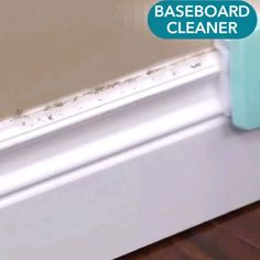 Adjustable Conforming Baseboard Cleaner - Want to restore your baseboards and trims to the way they looked when they were freshly painted? Deep Cleaning Tips, House Cleaning Tips, Spring Cleaning, Diy Home Cleaning, Baseboard Cleaner, Baseboard Molding, Cleaning Baseboards, Paint Baseboards, Baseboard Ideas