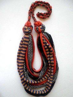 Collar de trapillo: Fotos de diseños (18/20)   Ellahoy