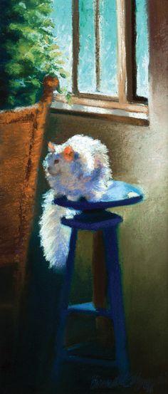 Feline Garden Flags for Summer Gardens - Portraits of Animals