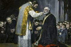 Francisco de Goya y Lucientes, The Last Communion of St. Joseph of Calasanz, 1819.