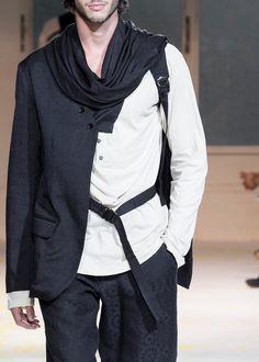 Yohji Yamamoto S/S 2015 Menswear