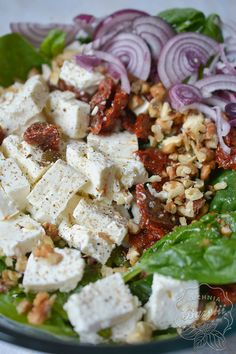 Feta, Slow Food, Dinner Recipes, Food And Drink, Lunch, Healthy Recipes, Cheese, Cooking, Impreza
