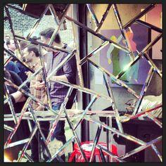 Cracked mirror #neocon #neoconography #guerillatruckshow