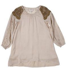 PALE CLOUD luxury silk dress holly