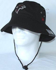 New Era Atlanta Falcons Team Bucket Redux Field Hat Black NFL e41f1f48a