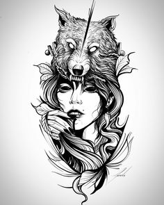 Tattoos 3d, Wolf Tattoos, Life Tattoos, Body Art Tattoos, Sleeve Tattoos, Tattoo Art, Tattoo Design Drawings, Tattoo Sketches, Tattoo Designs
