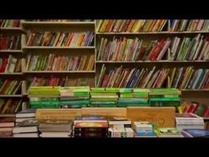 The Joy of Books -- the most wonderful short film ever made about a bookstore. What do the books do at night? (Made in the Type bookstore in Toronto -- read about it here: http://www.quillandquire.com/blog/index.php/bookselling-2/meet-sean-ohlenkamp-creator-of-the-viral-video-the-joy-of-books/ )