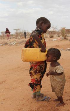 Afrika területének több mint felén vízhiánnyal küzdenek.