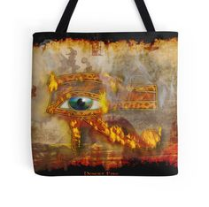 """""""Desert Fire"""" Artwork by Skye Ryan-Evans now available on Tote bags, Prints, Posters, Device Skins, Pillows etc."""