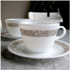 "Corelle ""Woodland Brown"" #corelledining. I still have the pattern, 1979 purchase"