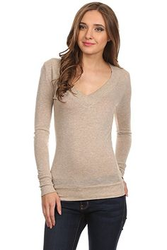 3b285dc4368 Simlu Womens Tops and Blouses Overstock Clothing Clearance at. Long Sleeve  ...