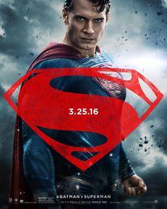 Henry Cavill como Superman en los nuevos posters de Batman v  Superman