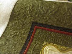 Christmas quilt border