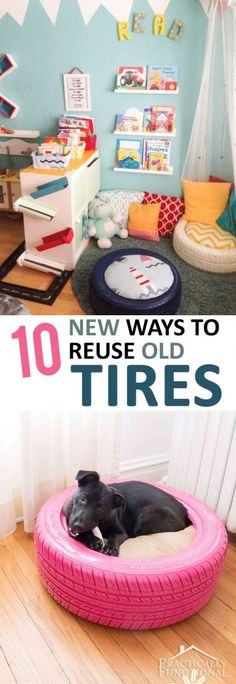 How to Reuse Old Tir