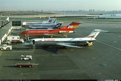 Some real classics as seen at New York's La Guardia in 1977.