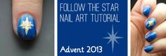 Advent Tutorial: Star | She Who Does Nails