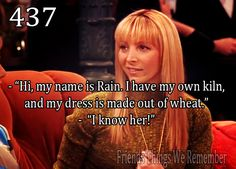Phoebe knows all the people that make the world more interesting