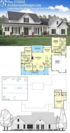 1000 images about floor plans on pinterest house plans for Country living magazine house plans