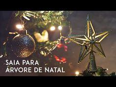 SAIA PARA ÁRVORE DE NATAL   AMANDA HOSSOI - YouTube