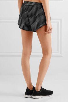 Nike - Tempo Printed Shell Shorts - Black - x small