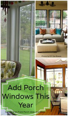 A screen porch kit is a great way to make a porch enclosure back perhaps you can begin to think of yourself relaxing on a screen porch with windows like solutioingenieria Gallery