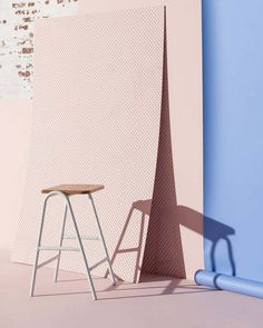 pink wall, pink inspiration, Dowel Jones Hurdle Family