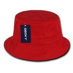 4e676627e0809 Decky Washed Cotton Twill Fisherman S Polo Fitted Bucket Chino Hats Caps  Unisex