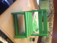 annie sloan chalk paint antibes green, clear wax