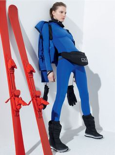 Love the new adidas by Stella McCartney collection for Winter sports