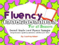 $ Fluency & Comprehension Reading Intervention for All Seaso