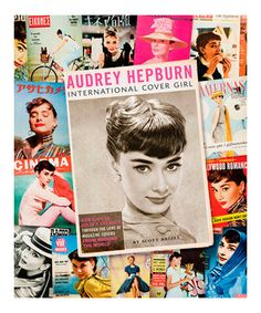 Audrey Hepburn fans are sure to love this detailed hardcover book. Filled with information and stills from the actress's life, it's a comprehensive volume celebrating the film star and model's legacy that's perfect for any fan's collection.