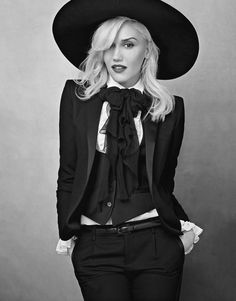 Annie Liebovitz - Gwen Stefani in YSL 2013 for VogueUS