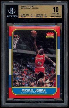 Michael Jordan - 1986-87 Fleer Rookie Card