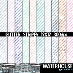 Hey, I found this really awesome Etsy listing at https://www.etsy.com/listing/287044233/glitter-stripes-paper-pack-instant