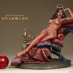 Dejah Thoris by Sideshow Collectibles – Artsupplies Statues, John Carter Of Mars, Fantasy Princess, Custom Action Figures, Sideshow Collectibles, Comics Girls, Figure Model, Fantasy Women, Cartoon Pics