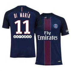 16-17 Cheap PSG Home #11 Maria Replica Football Shirt [H00788]