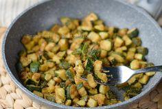 Zucchine gratinate in padella, ricetta contorno light zucchine sabbiose in padella. Un contorno buonissimo perfetto per esaltare anche pasta riso e cous cous