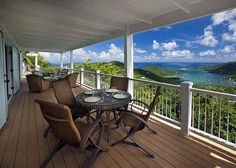 Great Turtle Villa commands sweeping views of Coral Bay, the Caribbean Sea and the emerald green hills of Bordeaux Mountain.